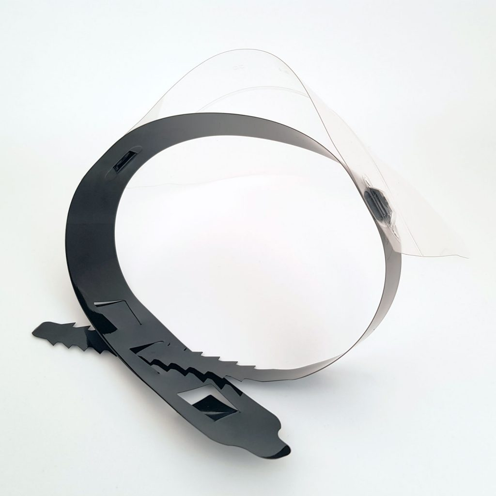 face-shield-top-view
